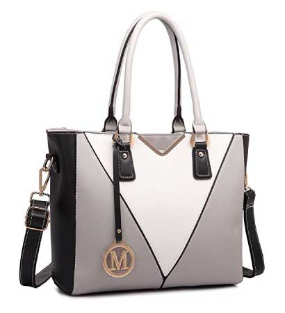 Miss Lulu Leather handbag