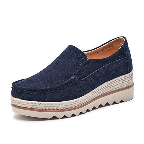 Womens Platform Loafers